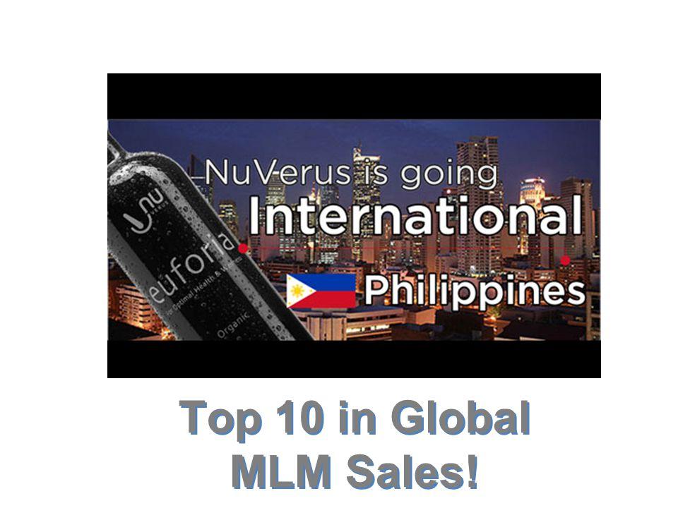 Top 10 in Global MLM Sales!