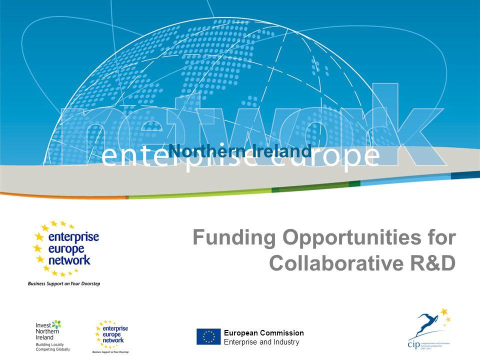 IRT Teams | Sept 08 | ‹#›Title of the presentation | Date |‹#› Enterprise Europe NI European Commission Enterprise and Industry Northern Ireland Fundi