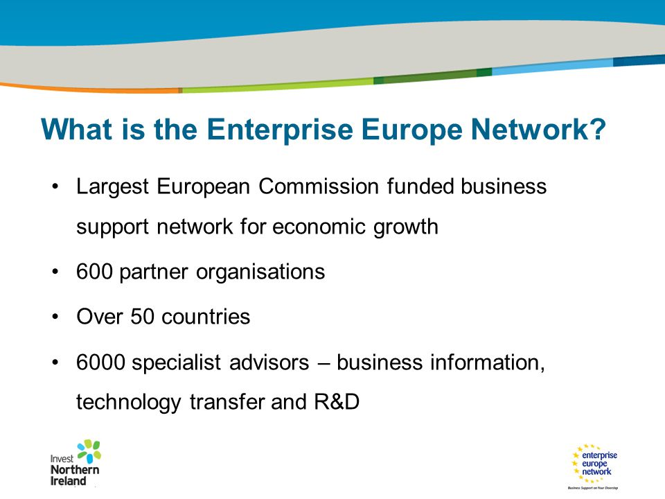 IRT Teams | Sept 08 | ‹#›Title of the presentation | Date |‹#› What is the Enterprise Europe Network.