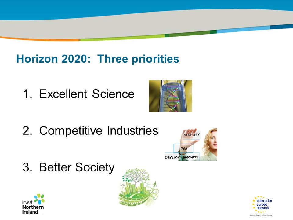 IRT Teams | Sept 08 | ‹#›Title of the presentation | Date |‹#› 1.Excellent Science 2.Competitive Industries 3.Better Society Horizon 2020: Three priorities