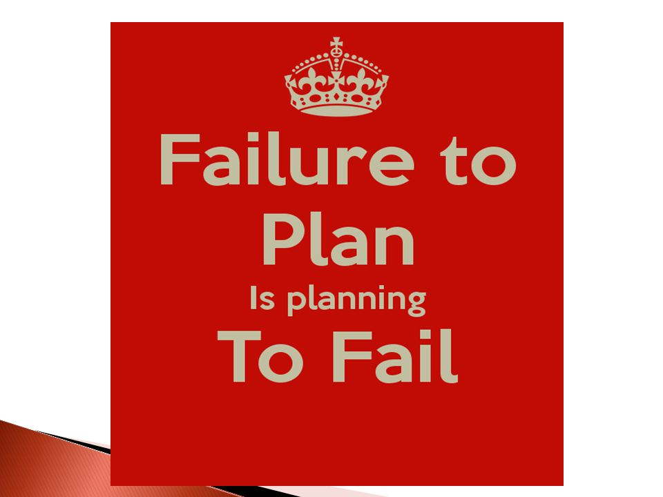  Planning is a process leading to the formulation of a plan  A plan is the outcome of the planning process  The planning process (thinking, researching, consulting, discussing) is at least as important as the final written plan