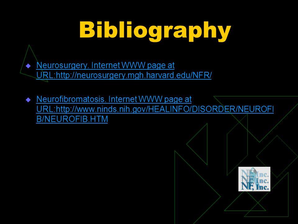 Bibliography u Neurosurgery.
