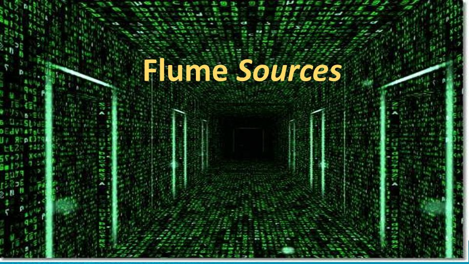 What is the source in Flume 32 Source Sink Channel Agent External Data External Repository