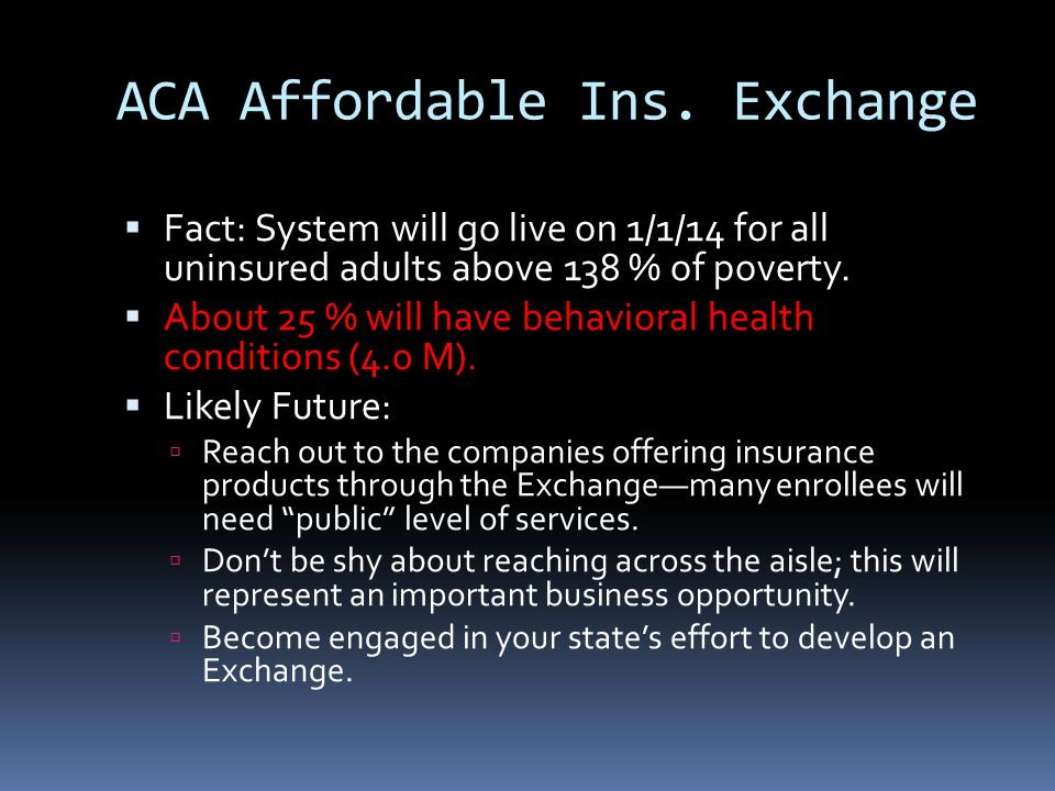 ACA Affordable Ins.