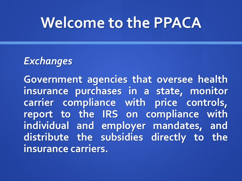 Welcome to the PPACA Shared Responsibility for Employers Regarding Health Insurance