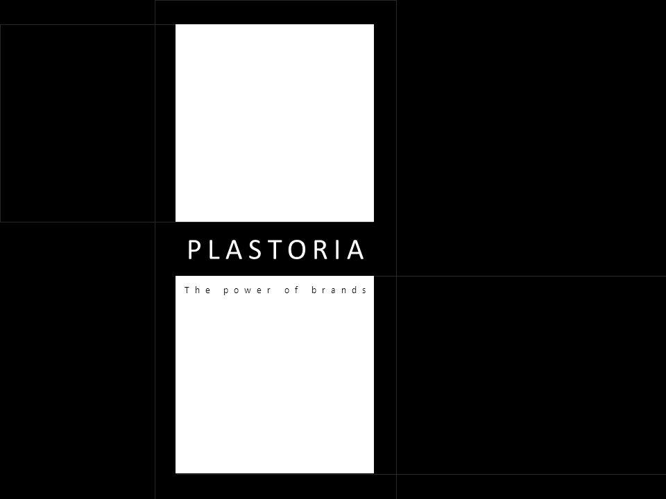 PLASTORIA The power of brands