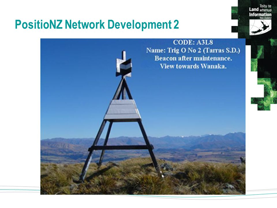 PositioNZ Network Development 2