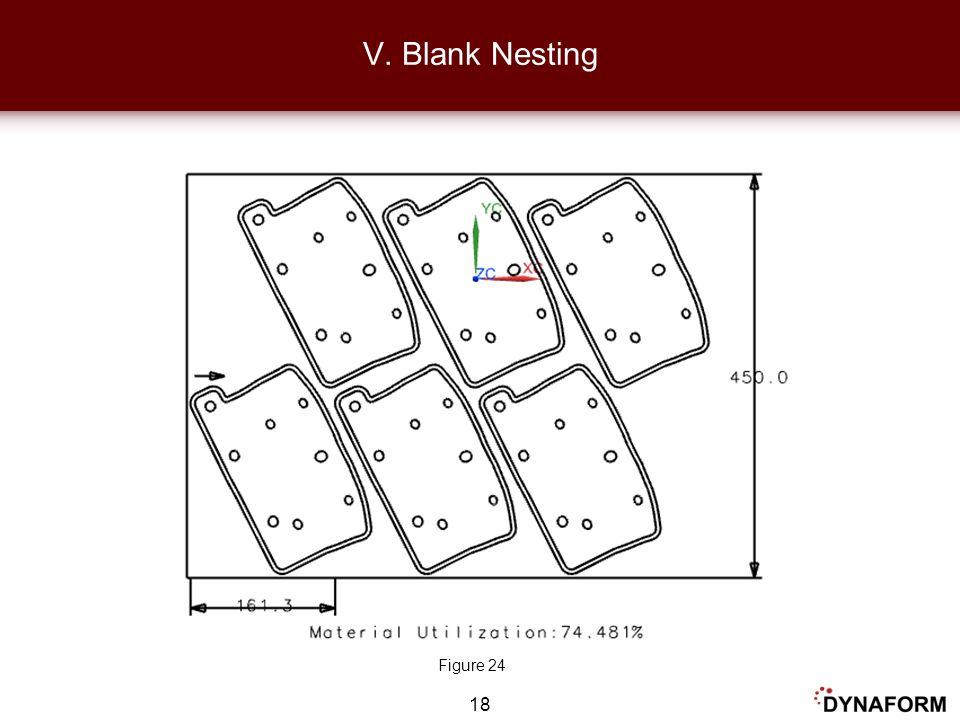18 V. Blank Nesting Figure 24
