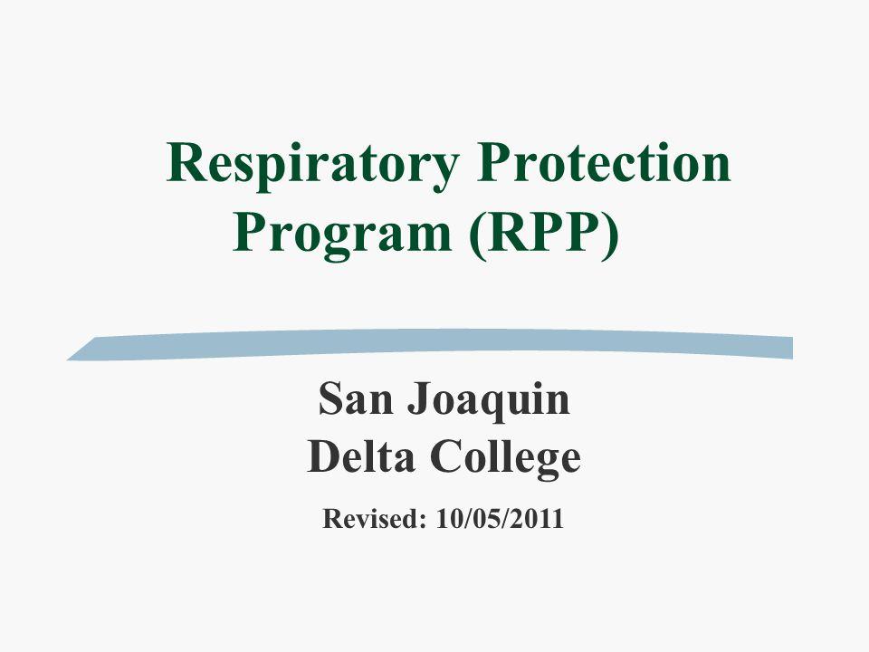 Objective  To prevent excessive exposure to airborne contaminants.