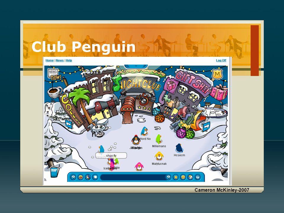 Cameron McKinley-2007 Club Penguin