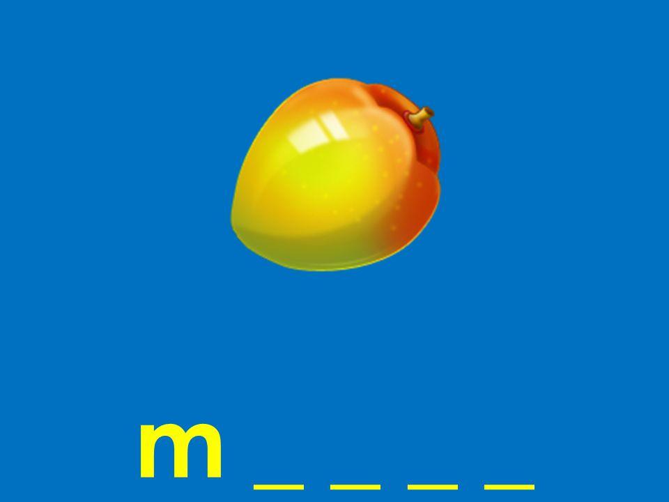 m _ _ _ _