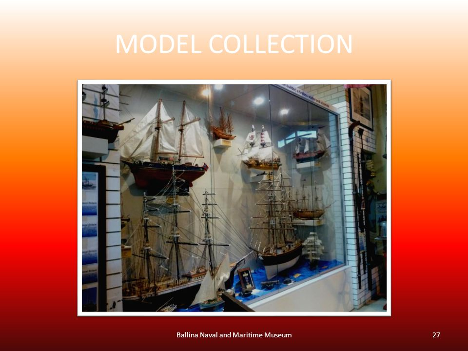 MODEL COLLECTION Ballina Naval and Maritime Museum27