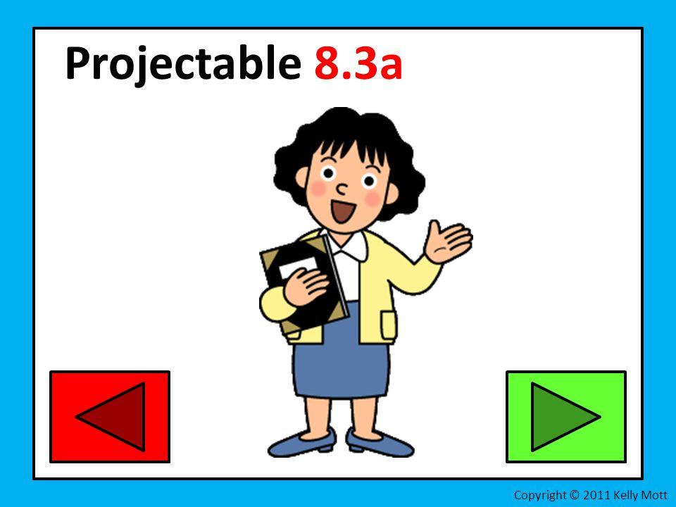 Projectable 8.3a Copyright © 2011 Kelly Mott