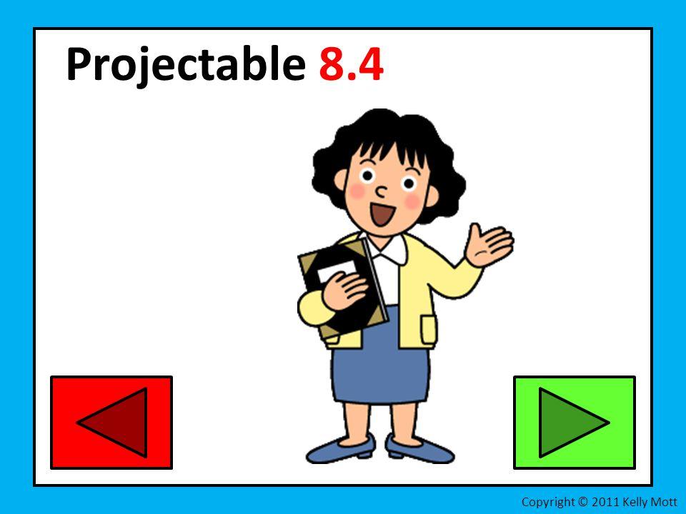 Projectable 8.4 Copyright © 2011 Kelly Mott