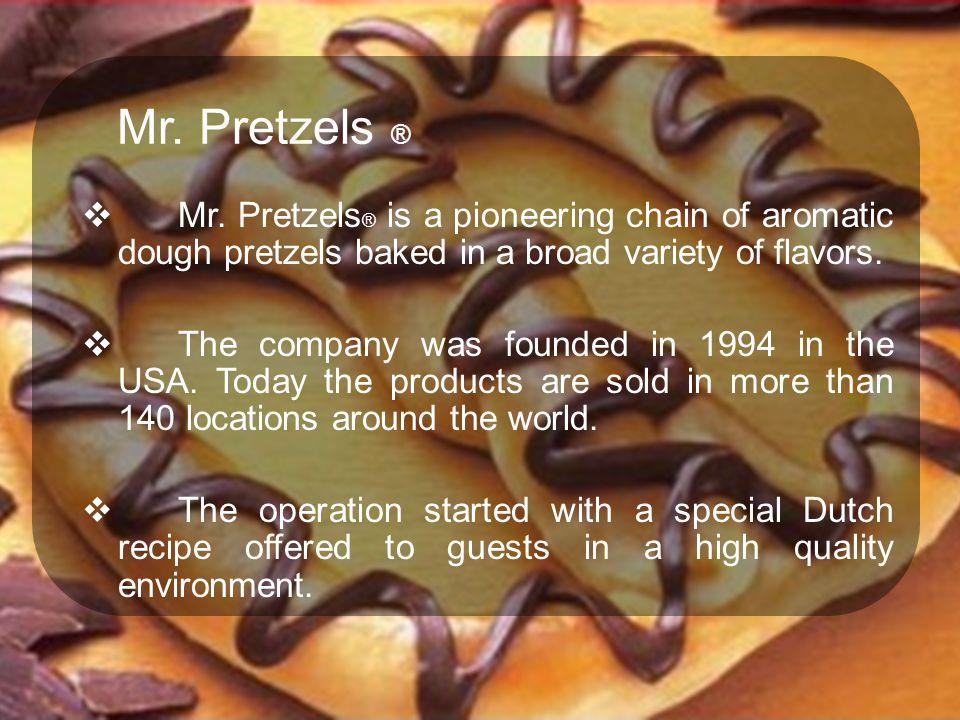 Mr.Pretzels ®  Mr.