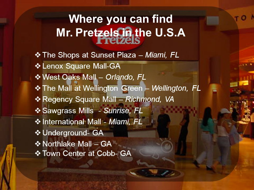 Where you can find Mr.