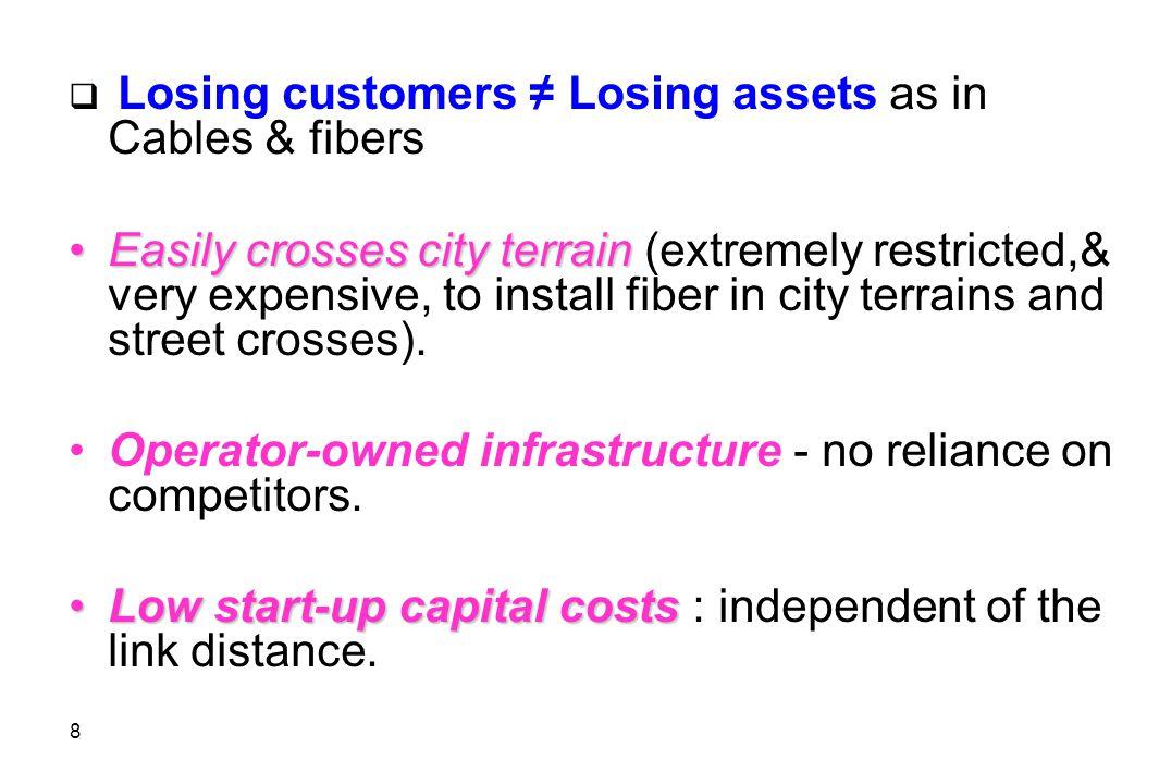9  Minimal operational costs.