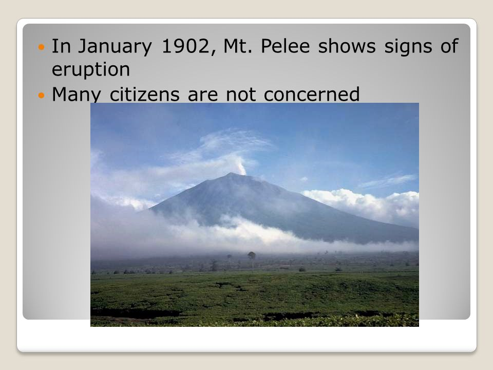 April 23, the volcano becomes more active Scientist reassures safety of the town