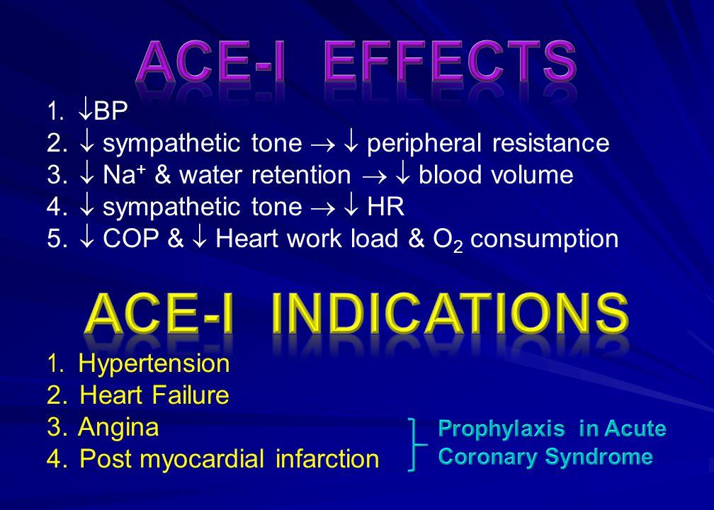 1.  BP 2.  sympathetic tone   peripheral resistance 3.