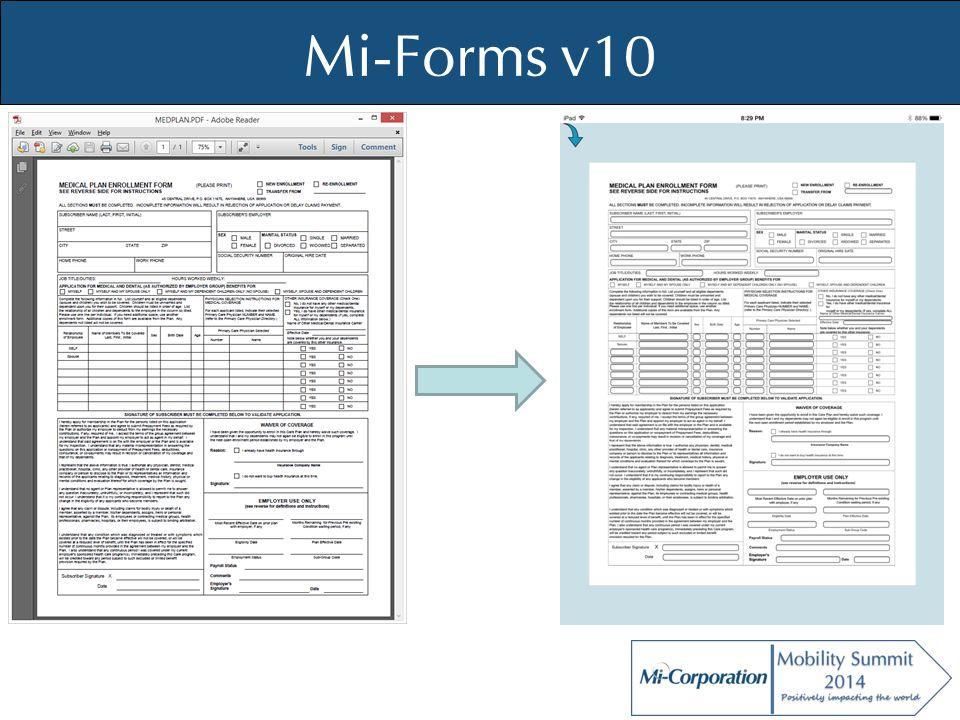 © Mi-Co, 2012 Mi-Forms v10
