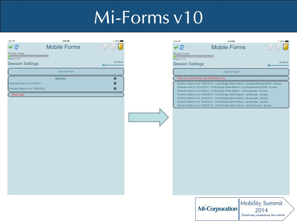 © Mi-Co, 2012 Field Inspection Solution Standard Charts By inspector By location By date Custom Charts Through configuring data views and admin dashboard