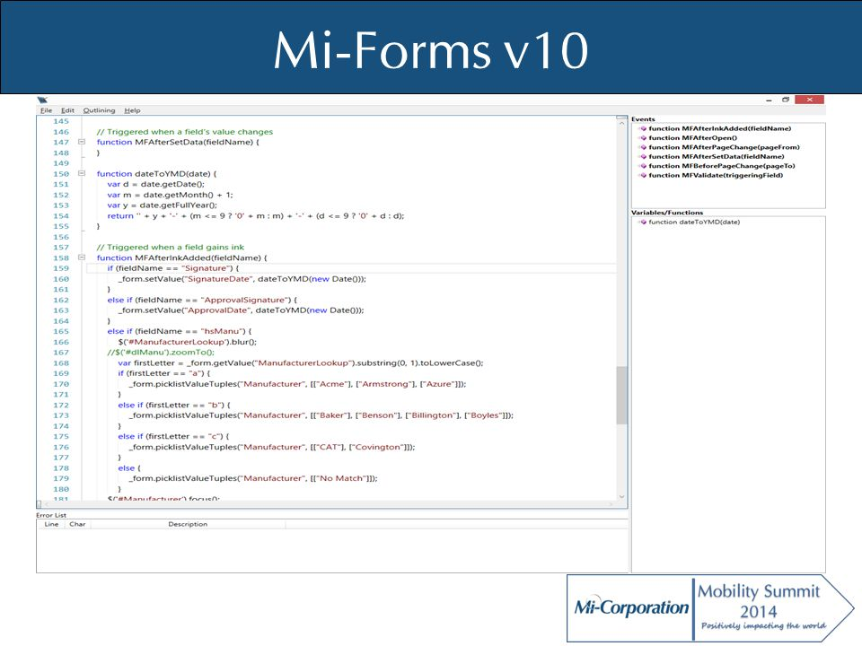© Mi-Co, 2012 Query Management Solution What is it.