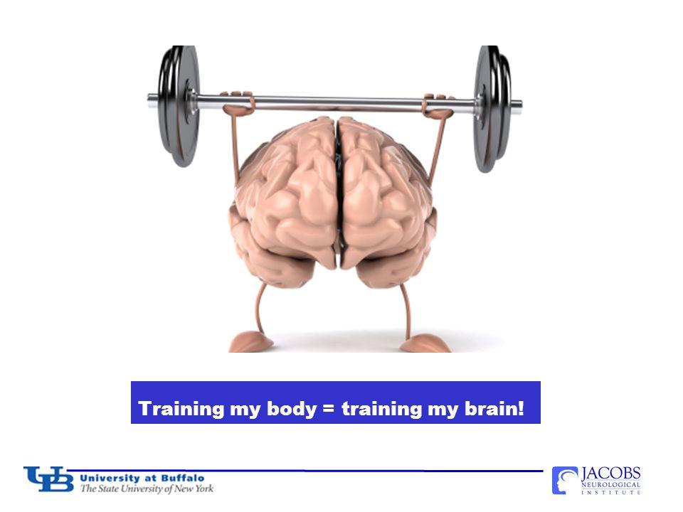 Training my body = training my brain!