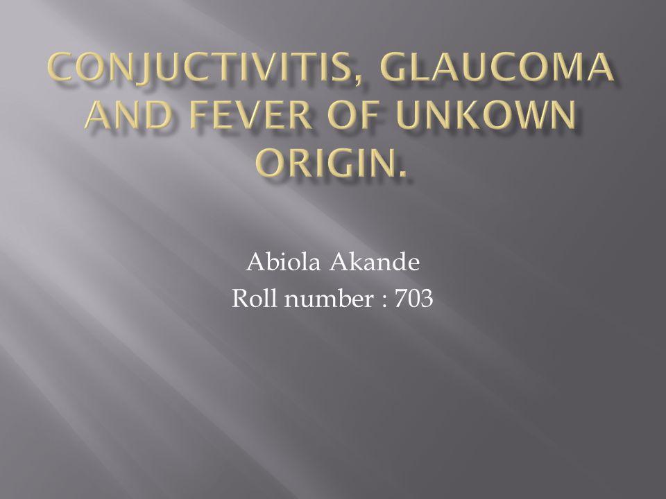 Abiola Akande Roll number : 703