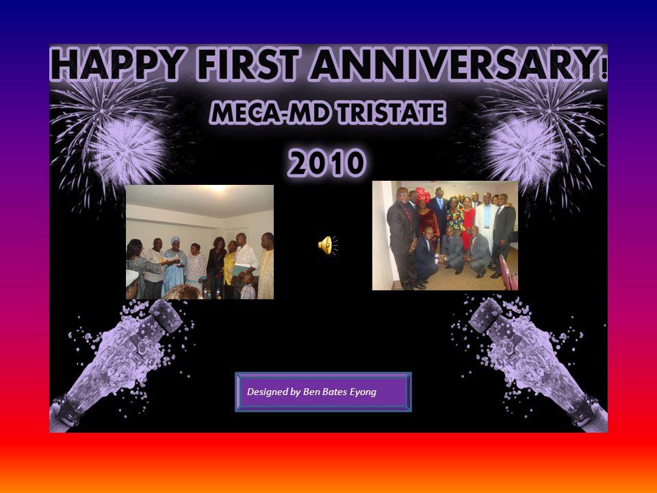 Sincerely, President Judith Ebini, MECA-MD TriState Sesekou Peter Ako, MD: Chairman, MECA-USA Designed by Ben Bates Eyong