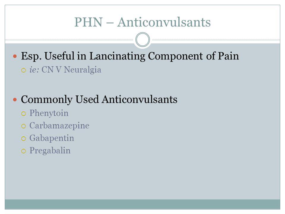 PHN – Anticonvulsants Esp.