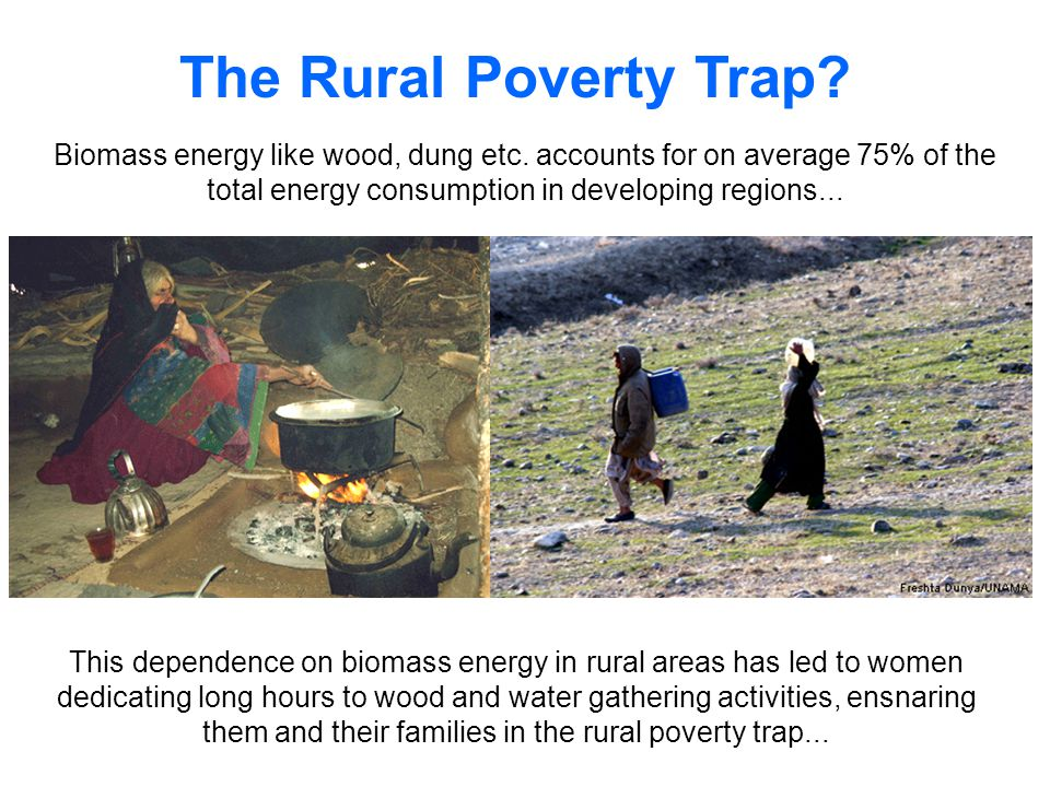 The Rural Poverty Trap.