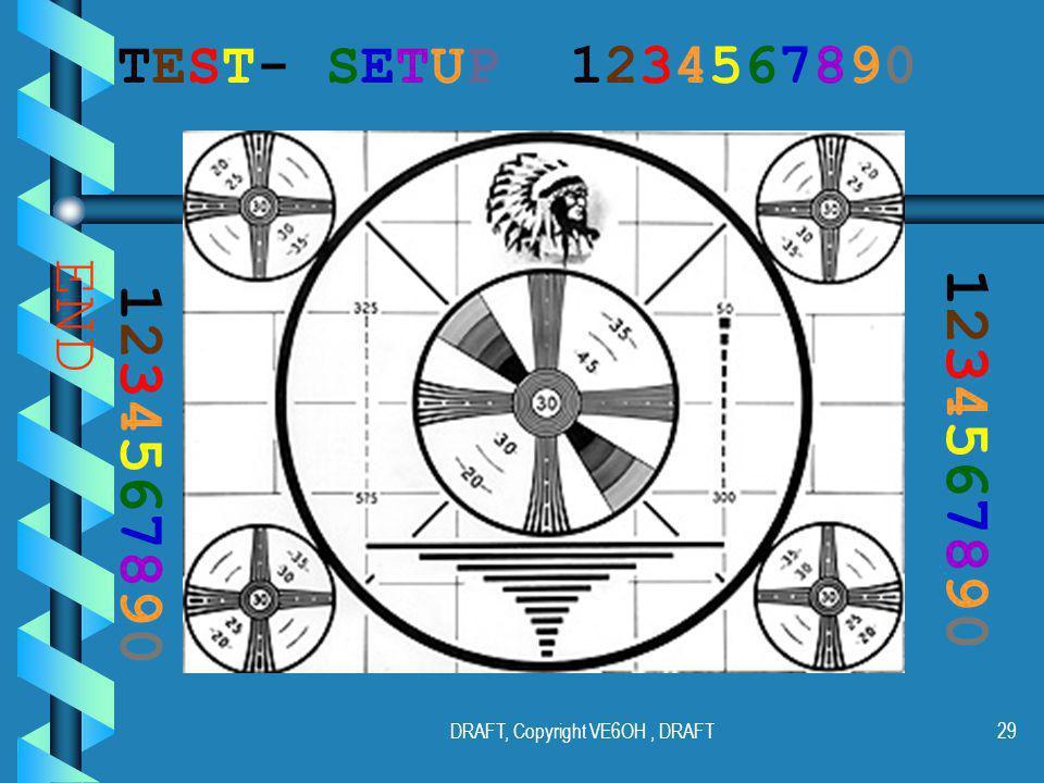 DRAFT, Copyright VE6OH, DRAFT28 Alfa Radio Ltd. Alfa Radio Ltd.