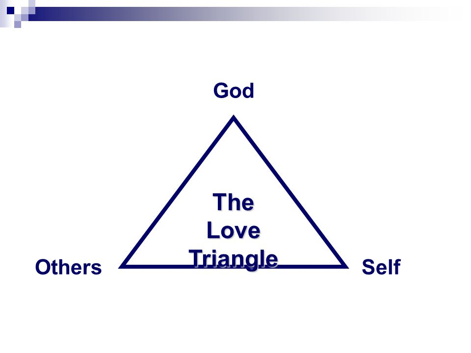 The Love Triangle God OthersSelf