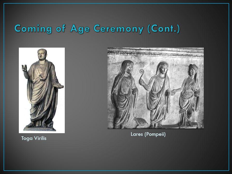 Toga Virilis Lares (Pompeii)