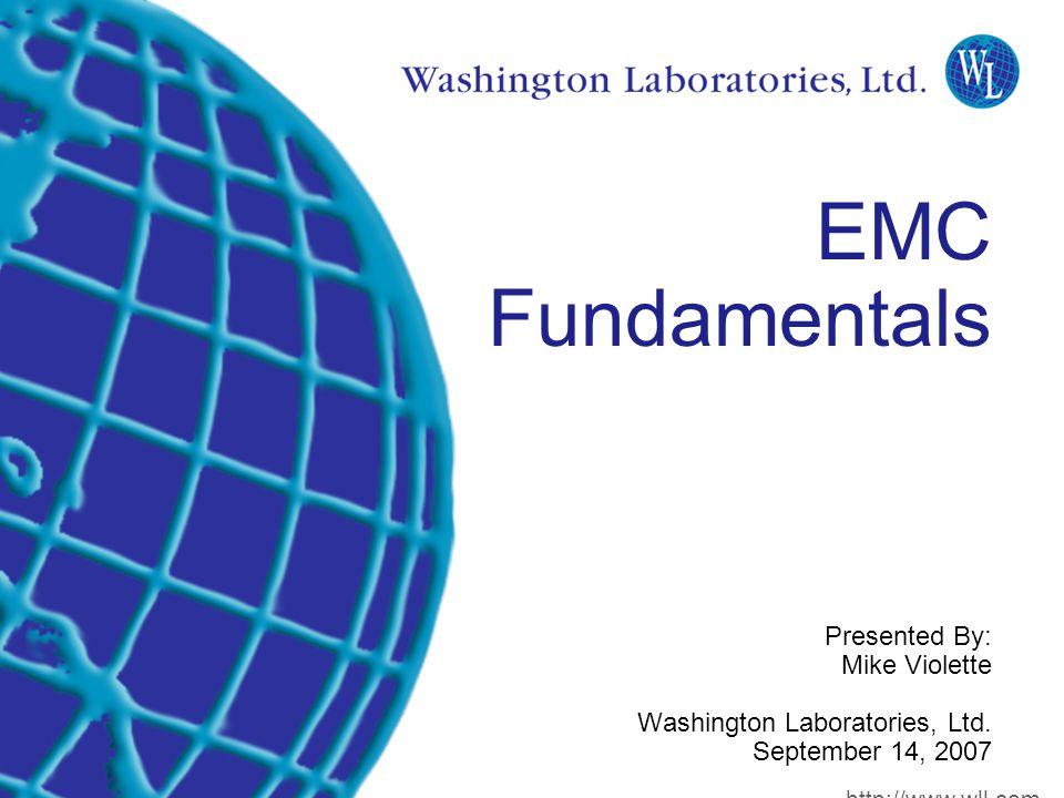 Introduction Elements of an EMI Situation Source Culprit Coupling method Path Sensitive device Victim SOURCE PATH VICTIM http://www.wll.com