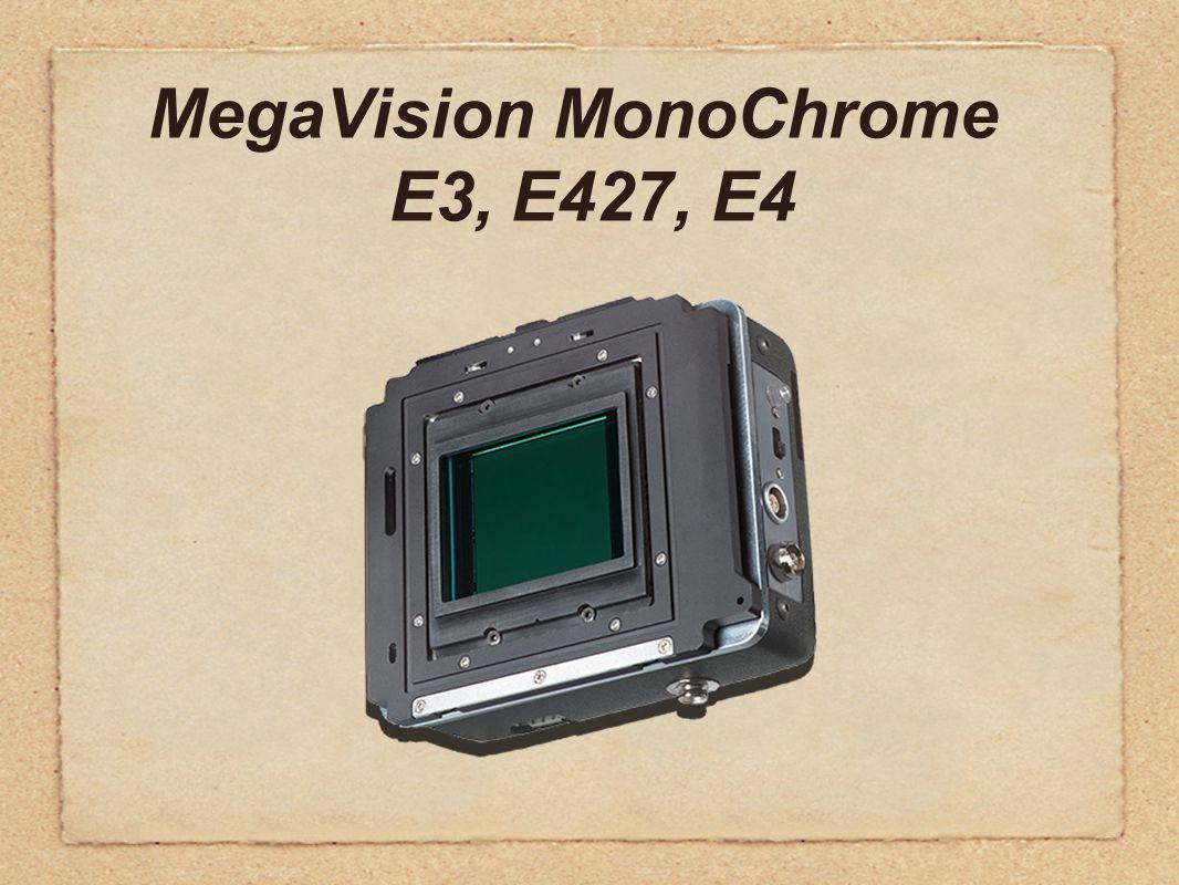 MegaVision MonoChrome E3, E427, E4