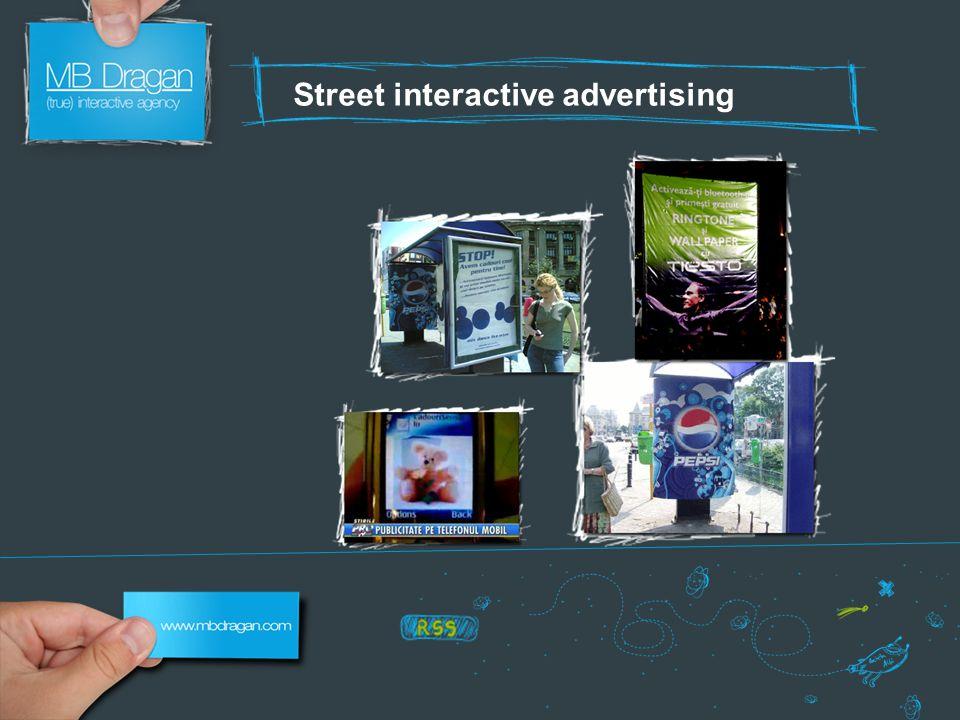 Street interactive advertising