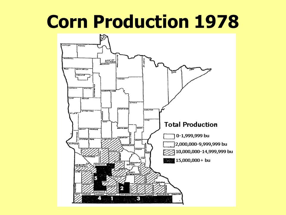 Corn Production 1978