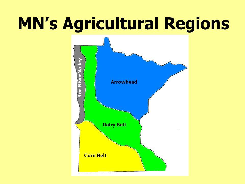 Average MN Farm Size 1935-2007
