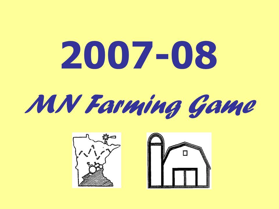 2007-08 MN Farming Game
