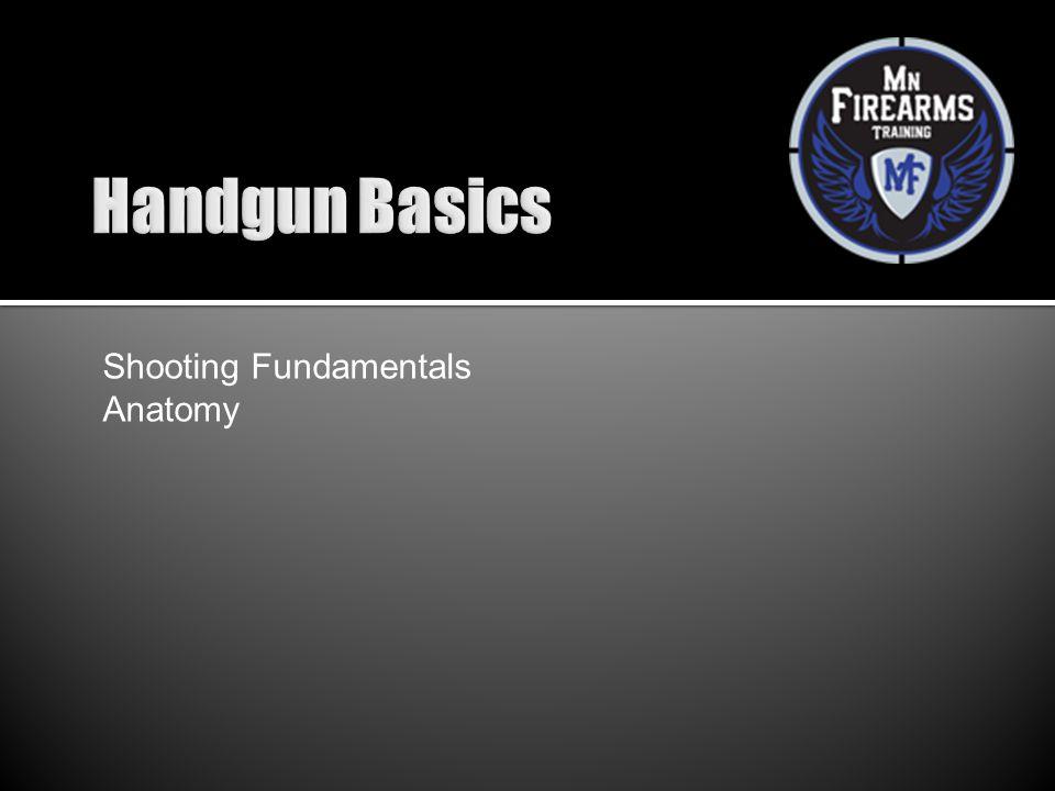 Shooting Fundamentals Anatomy