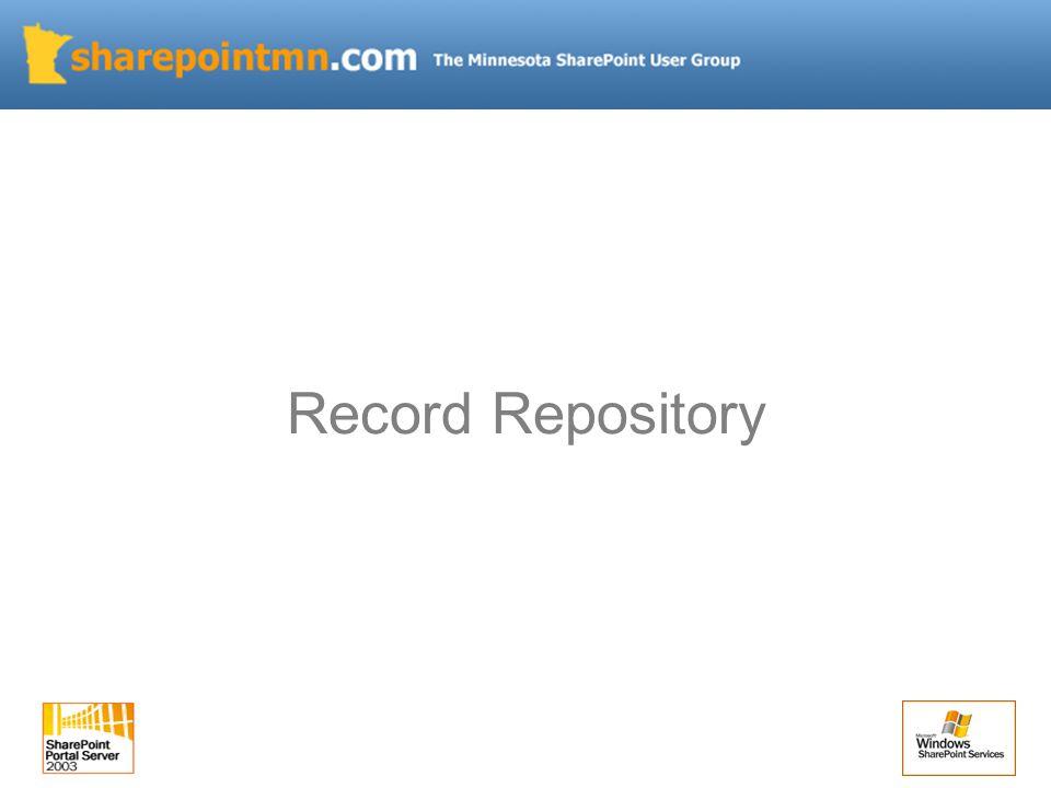 Record Repository
