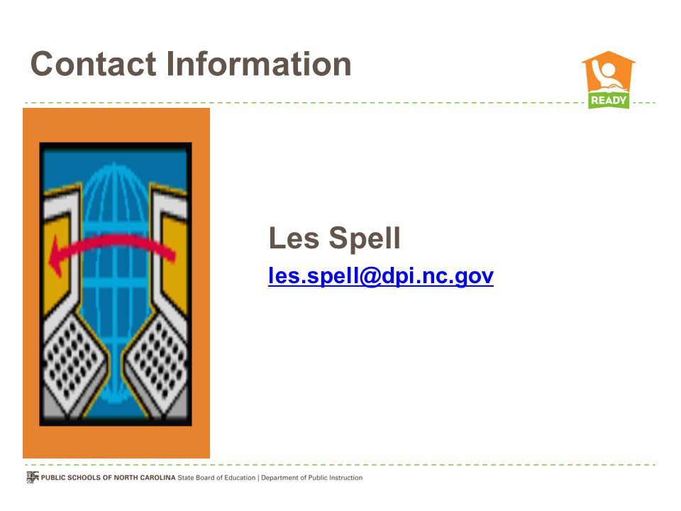 Contact Information Les Spell