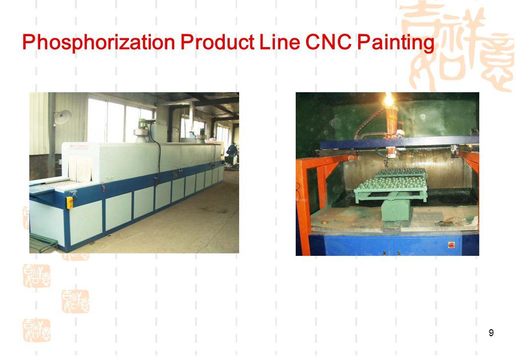 9 Phosphorization Product Line CNC Painting
