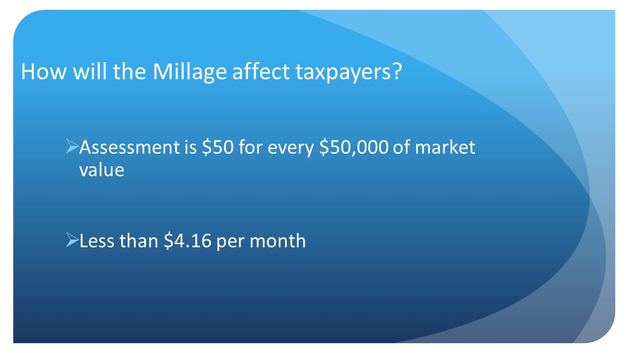 Why an Enhancement Millage.