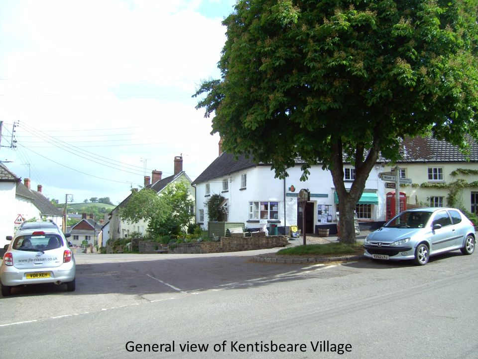 General view of Kentisbeare Village