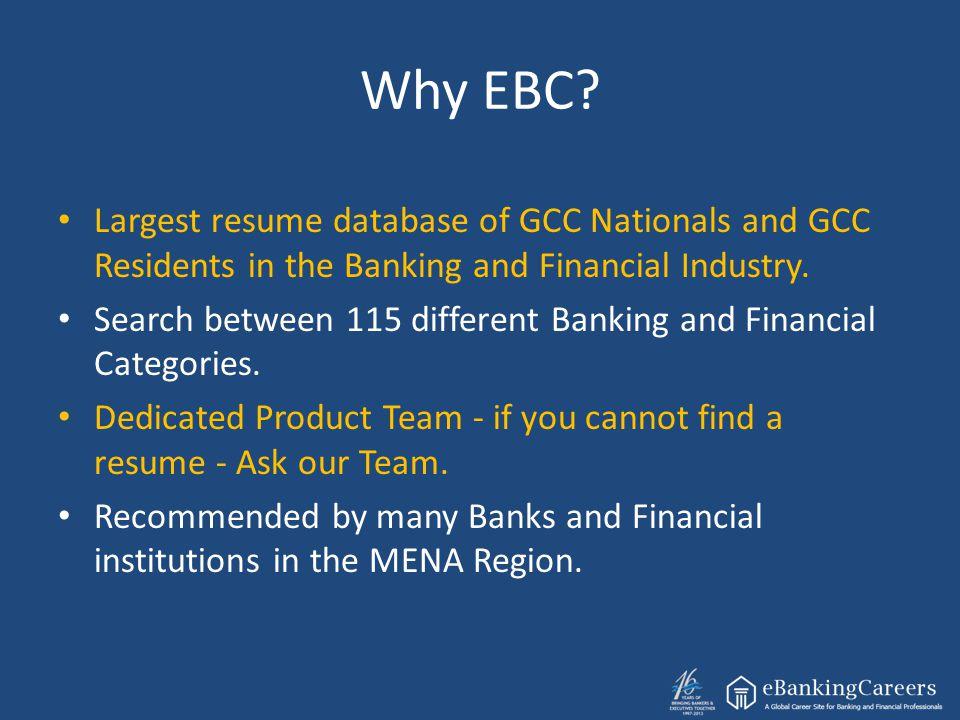 Why EBC.