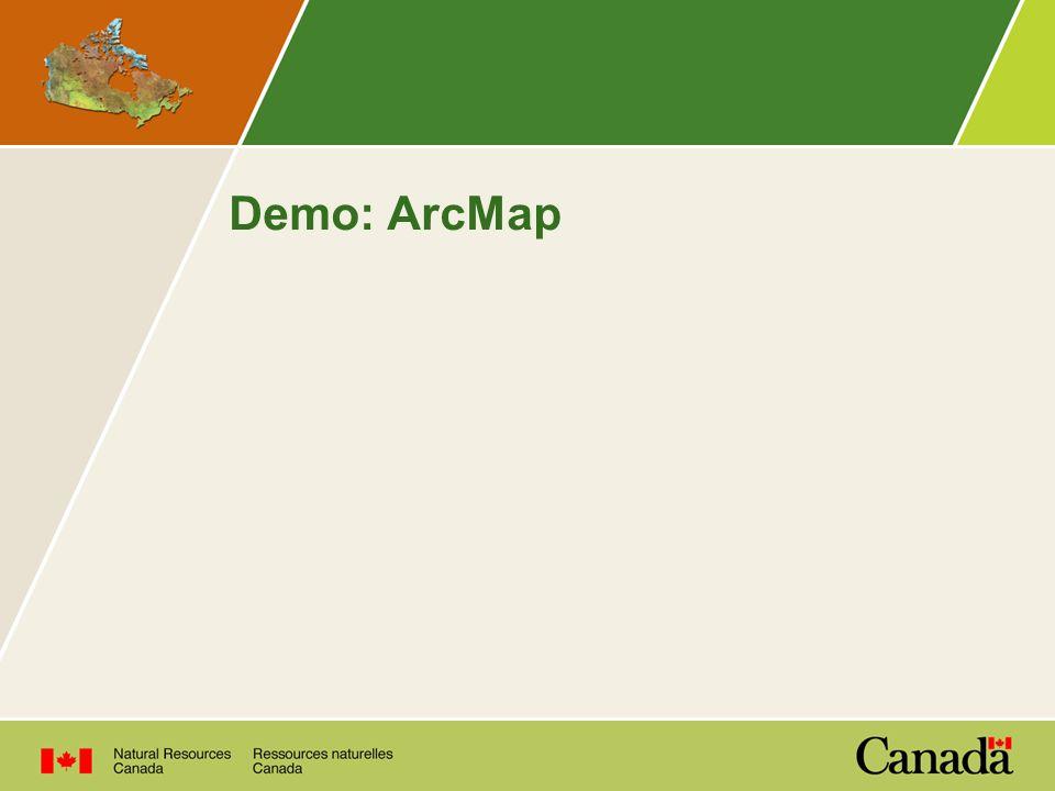 Demo: ArcMap