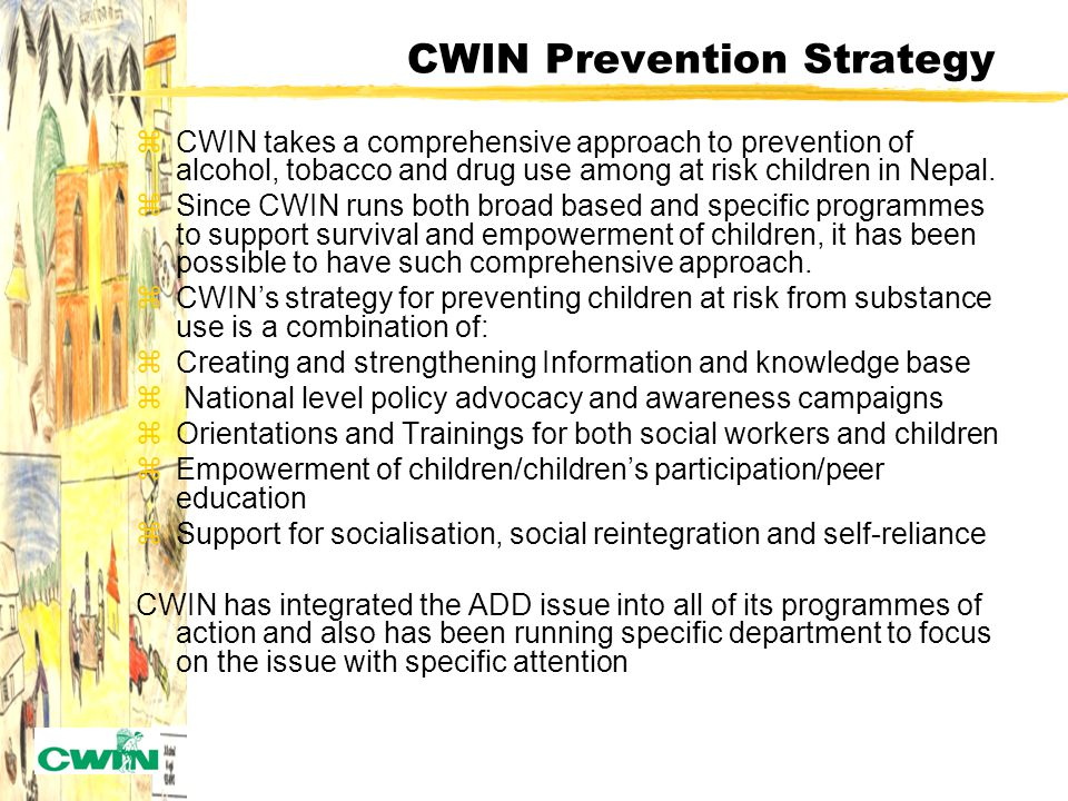 CWIN's Intervention