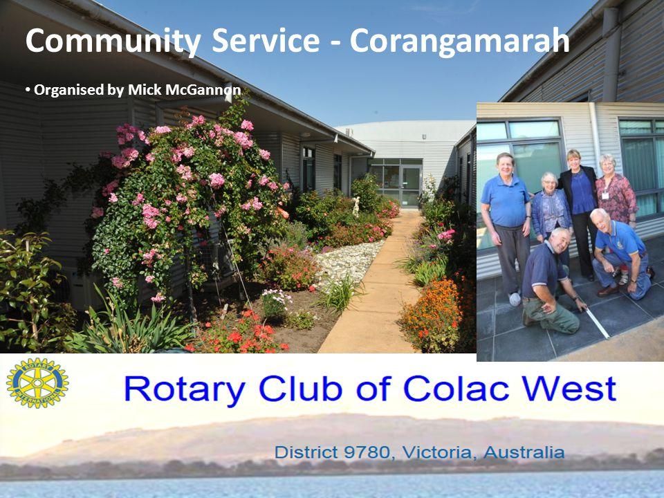 Community Service - Corangamarah Organised by Mick McGannon